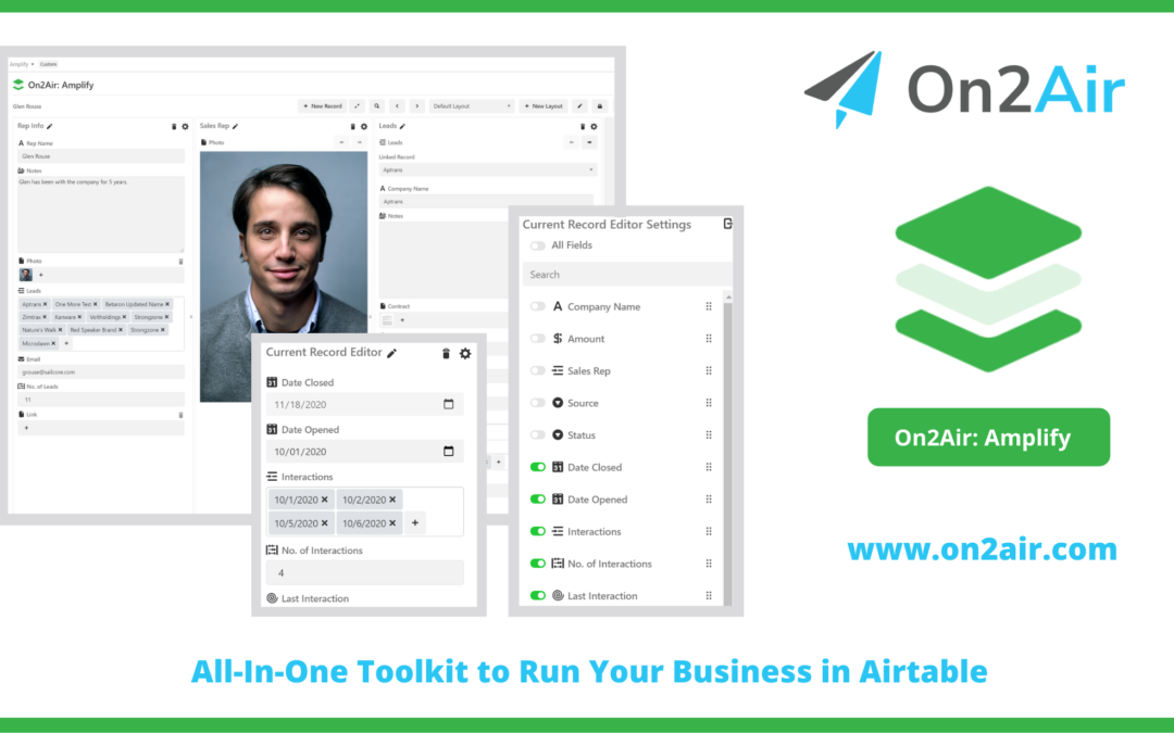 Introducing On2Air Amplify: An Airtable App to Change the Way You View Airtable