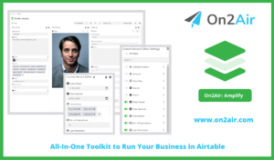 on2air_ amplify - All-In-One Toolkit to Run Your Business in Airtable_v3
