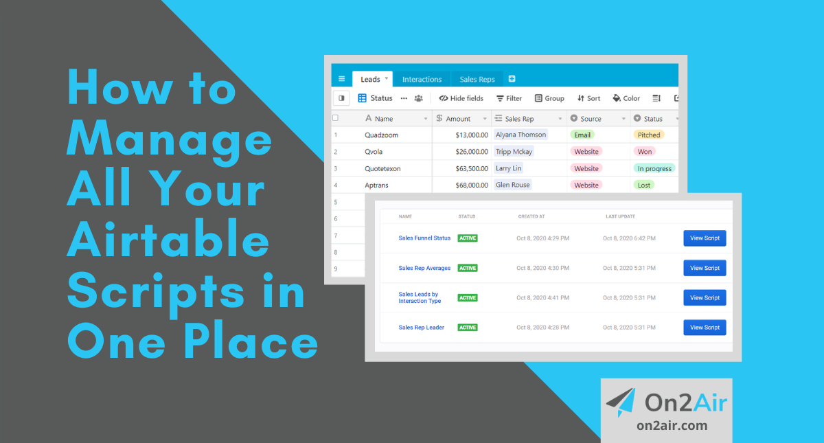 How to Manage All Your Airtable Scripts in One Place - Copy