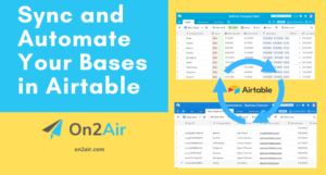 Sync and Automate Your Bases in Airtable